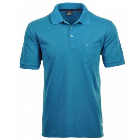 RAGMAN Polo Shirt kurzarm
