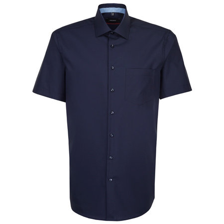 SEIDENSTICKER Hemd kurzarm 100% Baumwolle | Comfort Fit