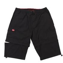 Shorts schwarz Baumwolle gemischt