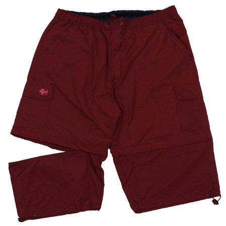 ABRAXAS (AX) Shorts schwarz Baumwolle gemischt