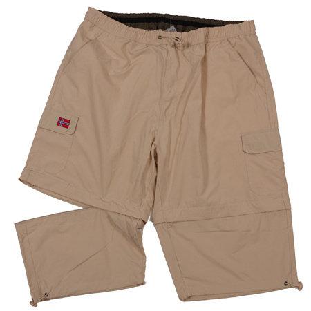 ABRAXAS (AX) Shorts sand Baumwolle gemischt
