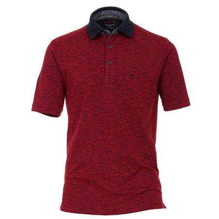 CASA MODA Polo Shirt | Baumwolle gemischt | rot