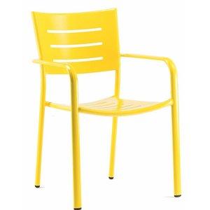 Stoel James geel