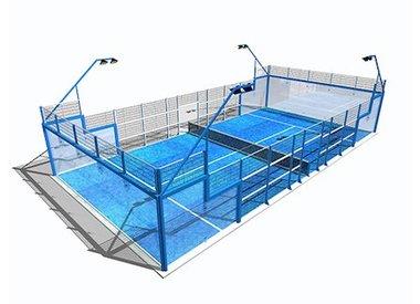Catalogus padel sport benelux bv for Terrain de tennis taille