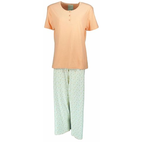 Dames pyjama TEPYD1302B- Zalm Roze- TR