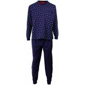 Paul Hopkins Heren pyjama PHPYH1505A-Blauw-L2