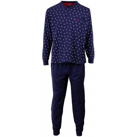 Heren pyjama PHPYH1505A-Blauw-L2
