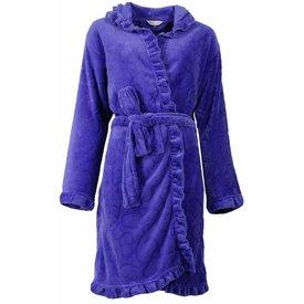 Tenderness Dames badjas TEBRD1503A-Royal Blue-S9-10