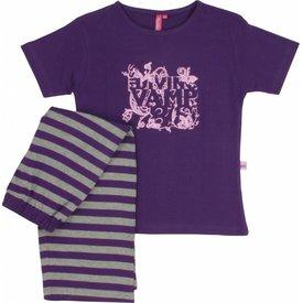 Annarebella Meisjes pyjama ANPYM1006A-Paars-M13