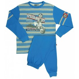 Blue Docks Jongens pyjama BDPYJ1301B-Blauw-BR15