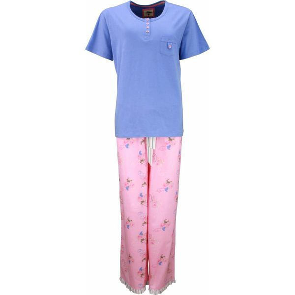 Tenderness Dames pyjama TEPYD1301A-Persian-Jewel Blauw