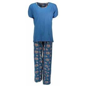 Irresistible Dames pyjama IRPYD1307A-Blauw-I10