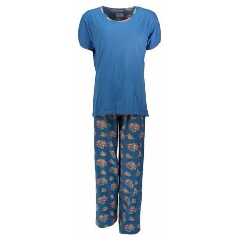 Dames pyjama IRPYD1307A-Blauw-I10