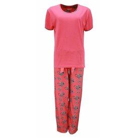 Irresistible Dames pyjama IRPYD1307B-Rood-I10