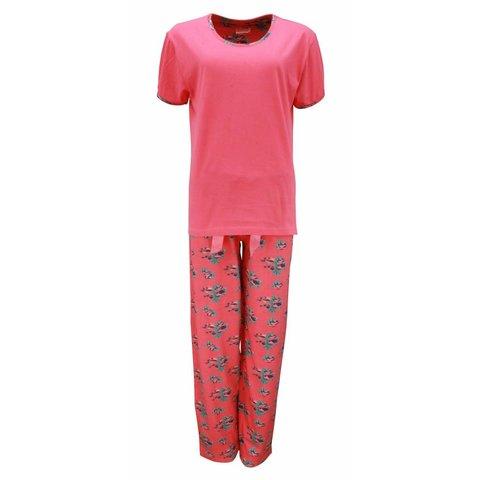 Dames pyjama IRPYD1307B-Rood-I10
