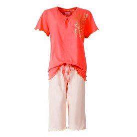 Irresistible Dames pyjama IRPYD1414A-Rood-RM Dames