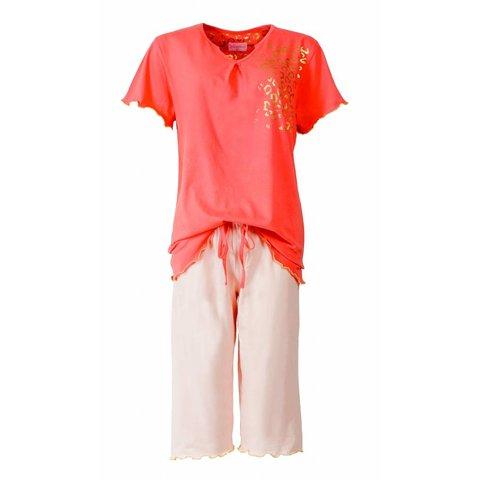 Dames pyjama IRPYD1414A-Rood