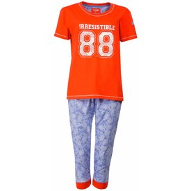 Irresistible Dames pyjama IRPYD1501A-Oranje-M15