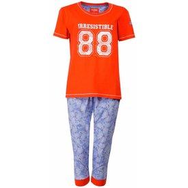 Irresistible Dames pyjama IRPYD1501A-Oranje-RM