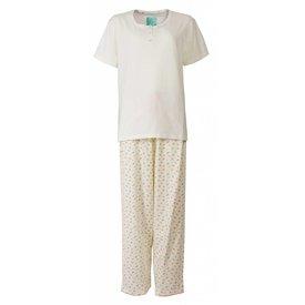 Tenderness Dames pyjama TEPYD1302A-Crème Wit-TR