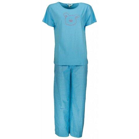 Dames pyjama PYD21043C-Blauw