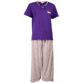 Tenderness Dames pyjama TEPYD1502A-Paars-M15