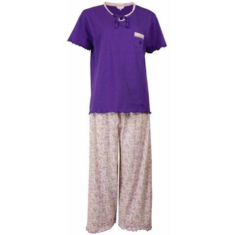 Dames pyjama TEPYD1502A-Paars-M15