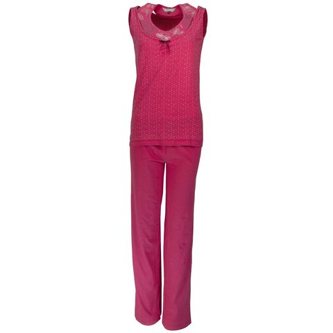 Dames pyjama IRPYD1117A-Paars-BR6