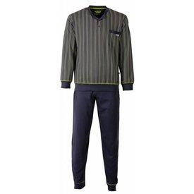 M.E.Q Heren pyjama MEPYH2504A-Grijs-L7