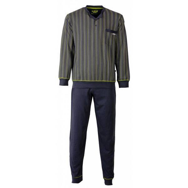 M.E.Q Heren pyjama MEPYH2504A-Grijs
