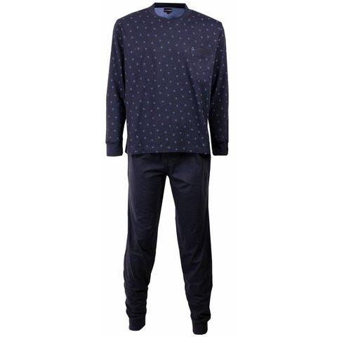 Heren pyjama PHPYH1505B-Blauw-L2