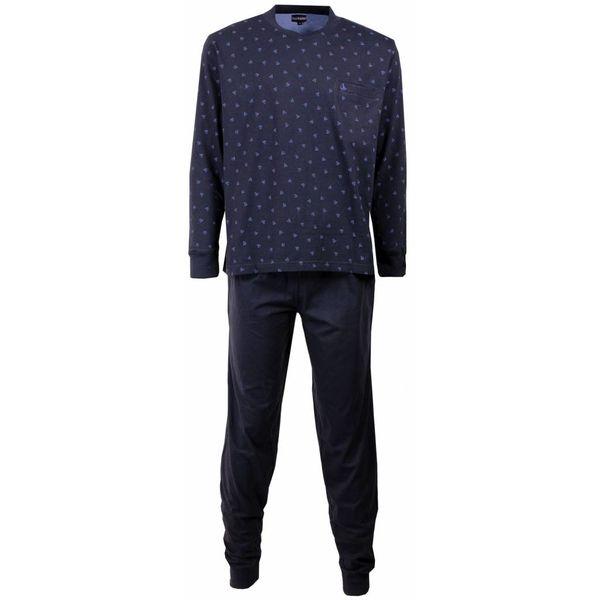 Paul Hopkins Heren pyjama PHPYH1505B-Blauw