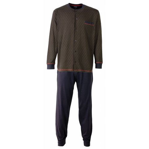 Heren pyjama PHPYH2511A-Grijs-E10
