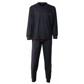 Paul Hopkins Heren pyjama PHPYH2510A-Grijs-L6