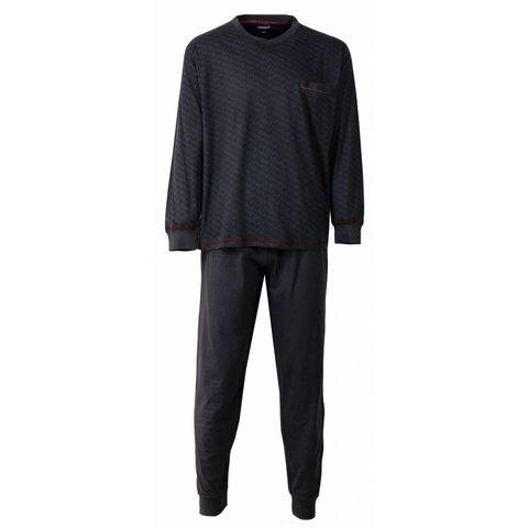 Heren pyjama PHPYH2510A-Grijs-L6