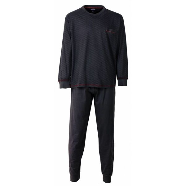 Paul Hopkins Heren pyjama PHPYH2510A-Grijs
