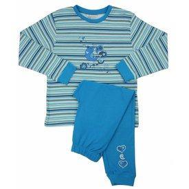 Angelfish Meisjes Pyjama AFPYY2108A-Blauw-BR5