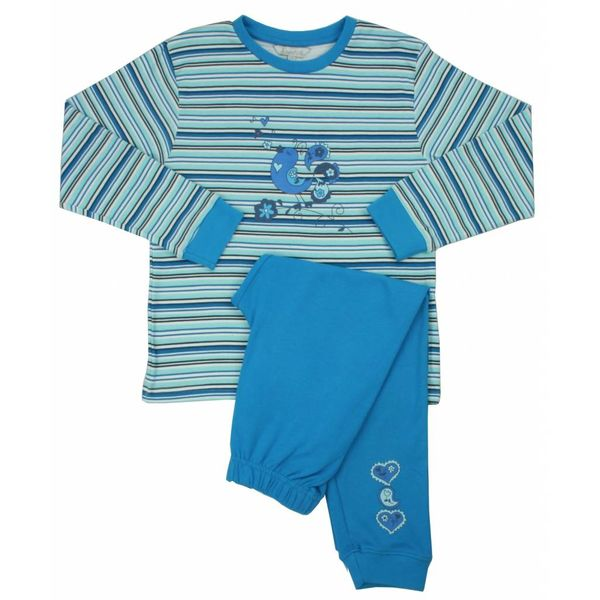 Angelfish Meisjes Pyjama AFPYY2108A-Blauw