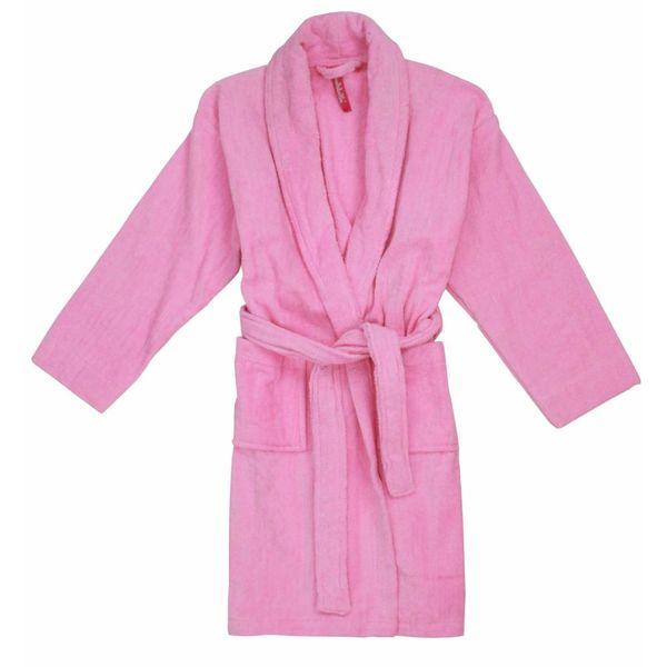 Annarebella Meisjes badjas BRM05402W-Roze