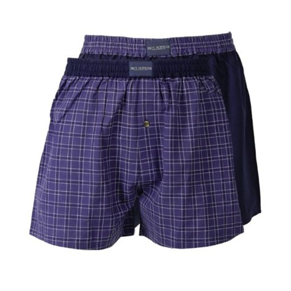 Paul Hopkins Heren boxershort SLH0003WB-Blauw