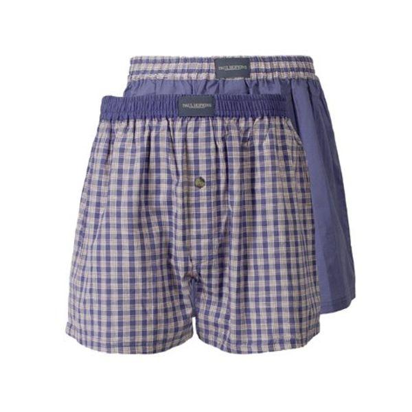 Paul Hopkins Heren boxershort OGH3068TC-Lichtblauw