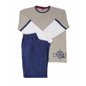 Blue Docks Jongens pyjama BDPYJ2904A-Khaki-P16