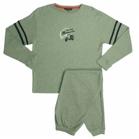 Blue Docks Jongens pyjama BDPYJ2002A-Grijs-O15