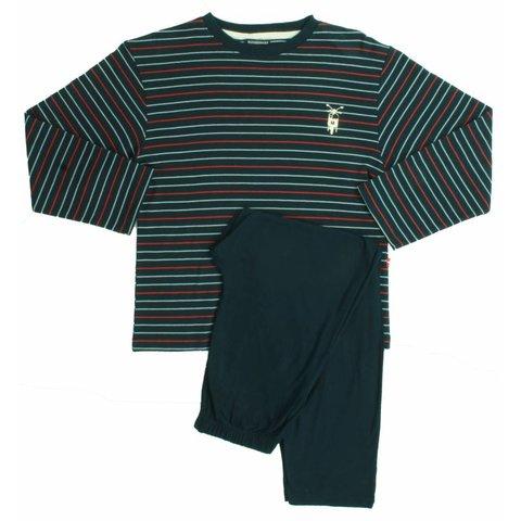 Jongens pyjama BDPYJ2003B-Blauw-BR14