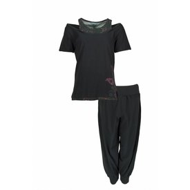 Irresistible Dames pyjama IRPYD1203D-Zwart-RM