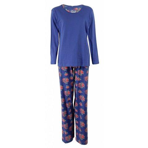 Dames pyjama IRPYD1306A-Blauw-C11