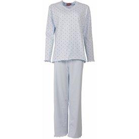 Medaillon Dames pyjama MEPYD1103B-Blauw-K16