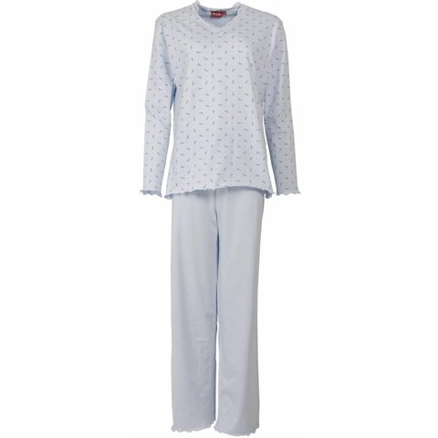 Medaillon Dames Pyjama Blauw