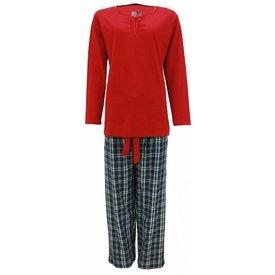 Tenderness Dames pyjama TEPYD2205A-Rood-N13