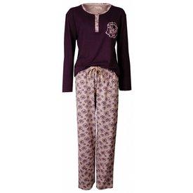 Tenderness Dames pyjama TEPYD2404B-Paars-K11